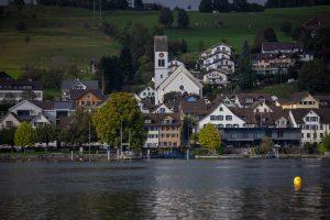Badestrand Obersee